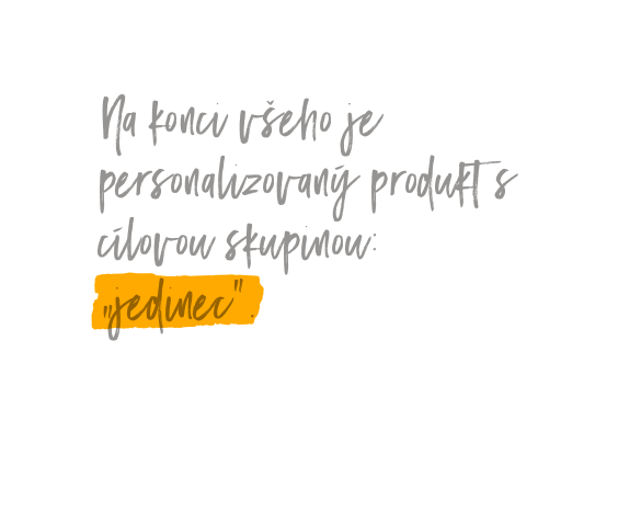 Am Ende steht das personalisierte Produkt