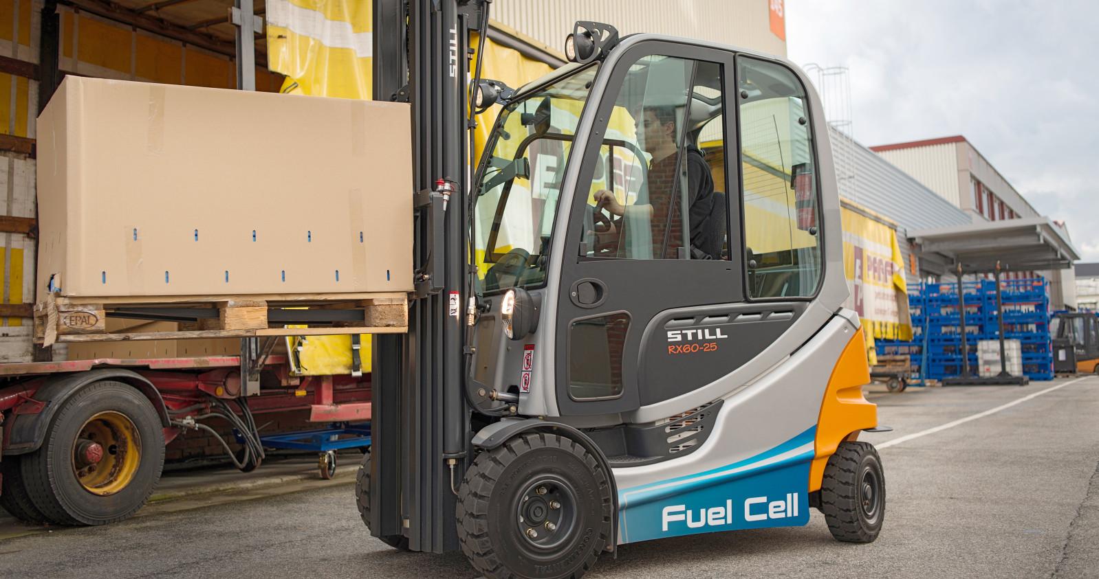 Der RX60-25 FuelCell im Einsatz