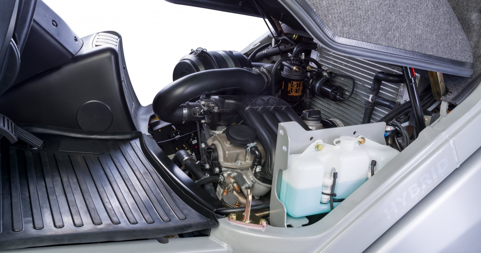Betankung des Brennstoffzellen-PowerPacks