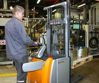 Ny el-stabler giver en håndsrækning hos GKN Wheels Nagbøl A/S