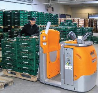 Frugt og grønt pakkes sikkert og ergonomisk