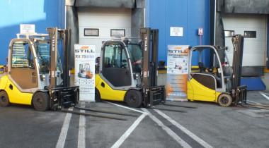 Pestrá škála vozíků STILL pro společnost Magna