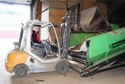 Gaffeltrucks med hybridteknologi gavner miljø og bundlinje