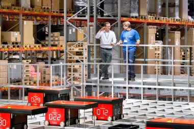 Robots take over production supply
