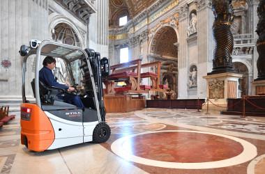 Vatican: Fabbrica di San Pietro
