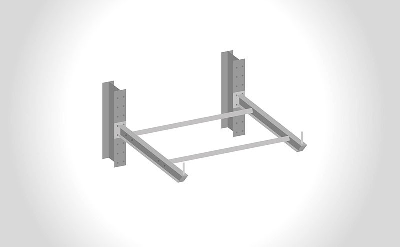Rayonnage cantilever