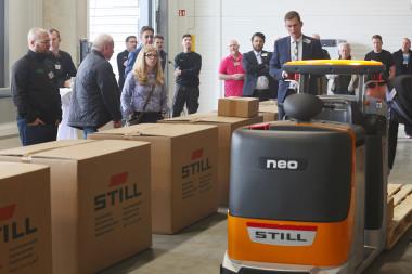 STILL Kundentag in Nürnberg/Fürth: Technologie wird zum Erlebnis