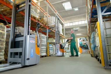 STILL liefert Lithium-Ionen-Flotte an die Firma Brüggen aus