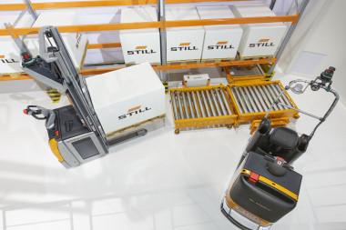 Neuestes Mitglied der STILL iGo Familie: Eine automatisierte Routenzuglösung