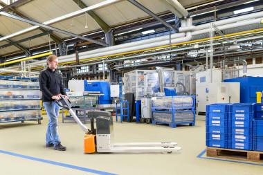 Kraftpaket für mühelosen Warentransport