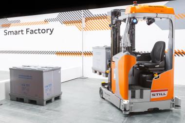 Automatisierter Transport von Großladungsträgern