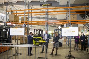 STILL überzeugt auf der Logistics & Distribution Messe in Brüssel