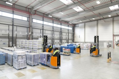 Pioneering use of hydrogen in intralogistics