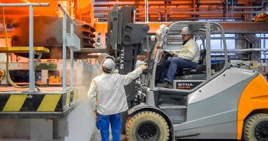 Reaching for the stars with a forklift truck
