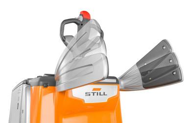 L'EXH-SF : STILL lance le transpalette électrique à plateforme rabattable le plus compact du marché !