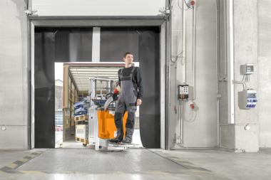 Stark & snabb dubbel i lagertekniktruckar