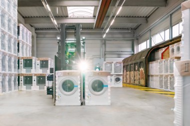 BSH Hausgeräte Service Nauen GmbH. Over three million large appliances – that's efficient fleet management!