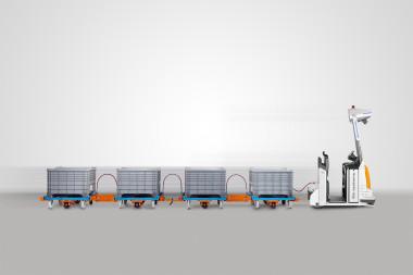 Automatisierte Routenzugsysteme sichern Effizienz, Ergonomie und Wertschöpfung