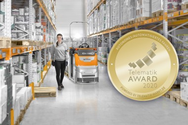 STILL OPX iGo neo triumphiert bei Telematik Award