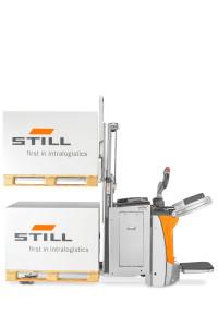 Le double chargement… toujours une palette d'avance pour l'EXD-SF de STILL !