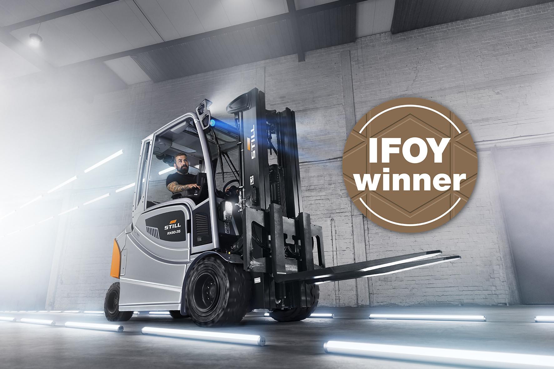Le RX 60 remporte l'IFOY 2020