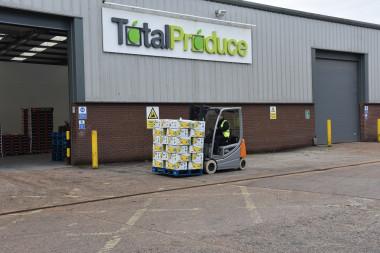 Total Produce – wózki na nocną zmianę