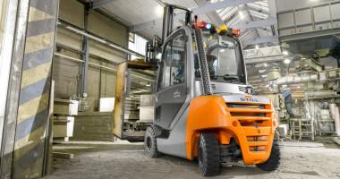 STILL reforça os seus robustos empilhadores híbridos RX 70-20/35 com motores 20% mais potente