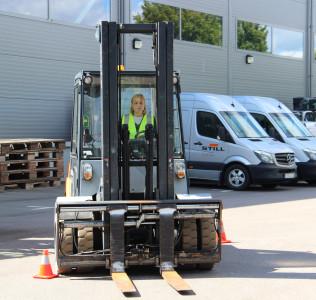 Nytagna truckkort ger större möjlighet till jobb