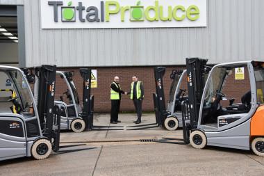 Trabalhando em parceria com a Total Produce