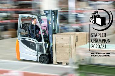 The STILL RX 20-16/P is VerkehrsRundschau Forklift Champion