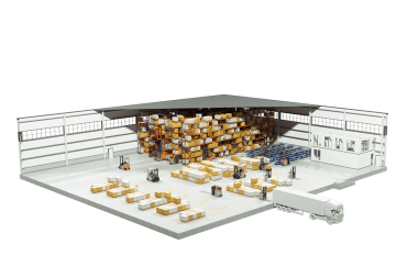 Transportaufgaben mit dem geringsten Ressourcenverbrauch lösen