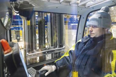 STILL FM-X: carretillas retráctiles resistentes a las bajas temperaturas