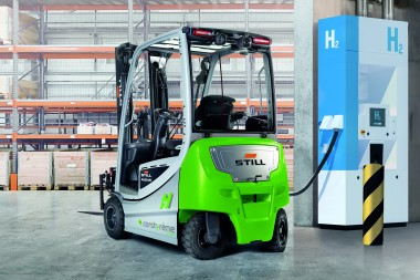 Corstyrène opts for hydrogen forklifts from STILL