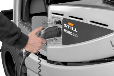 Technologia Li-Ion i elektryczne wózki widłowe zasilane z wtyczki