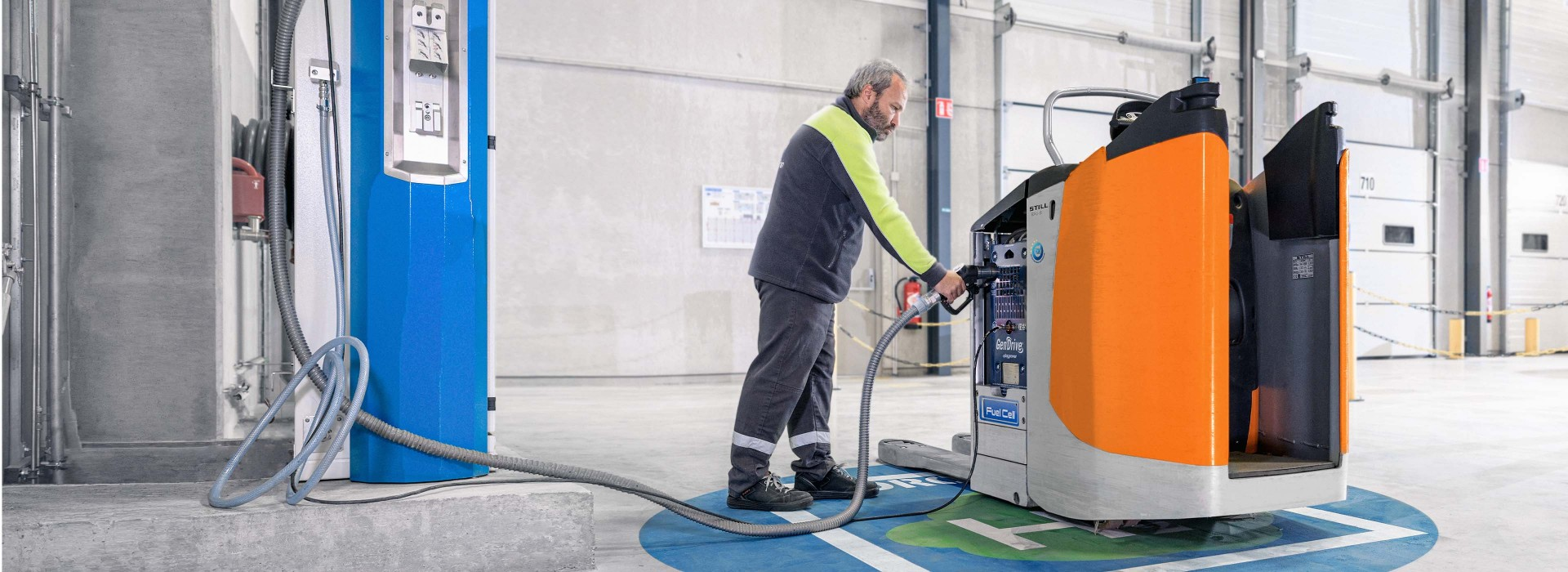 Brennstoffzellen-Technik