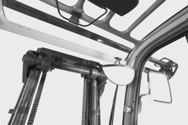 Spalinowe wózki widłowe RX 70 6,0 - 8,0 t