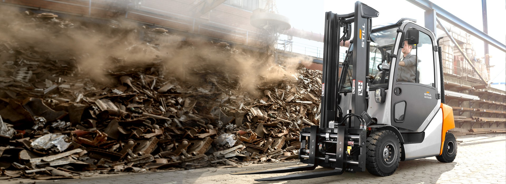 Diesel- und Treibgasgabelstapler - Saubere Leistung mit bis zu acht Tonnen Tragkraft!