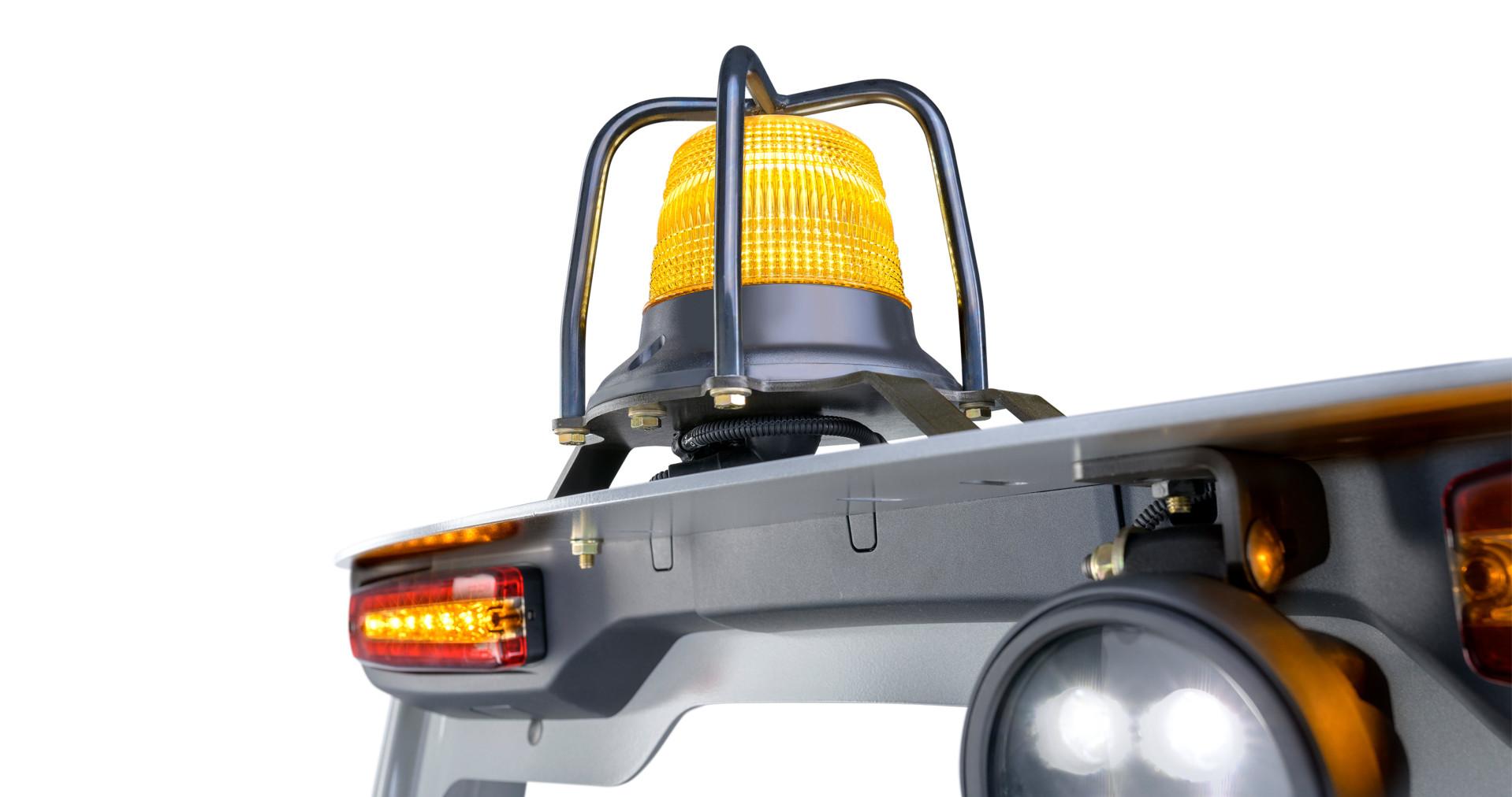 Avertisseur lumineux arrière, feu jaune clignotant d'avertissement de sécurité