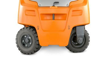Chariot élévateur électrique RX 20 1,4 - 2,0 t - vision des roues + essieu flottant