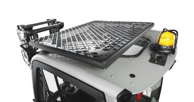 Chariot élévateur électrique RX 20 1,4 - 2,0 t - grille de protection sur le toit du chariot