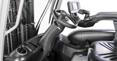 Chariot élévateur électrique RX 20 1,4 - 2,0 t - réglage du volant/de la colonne de direction