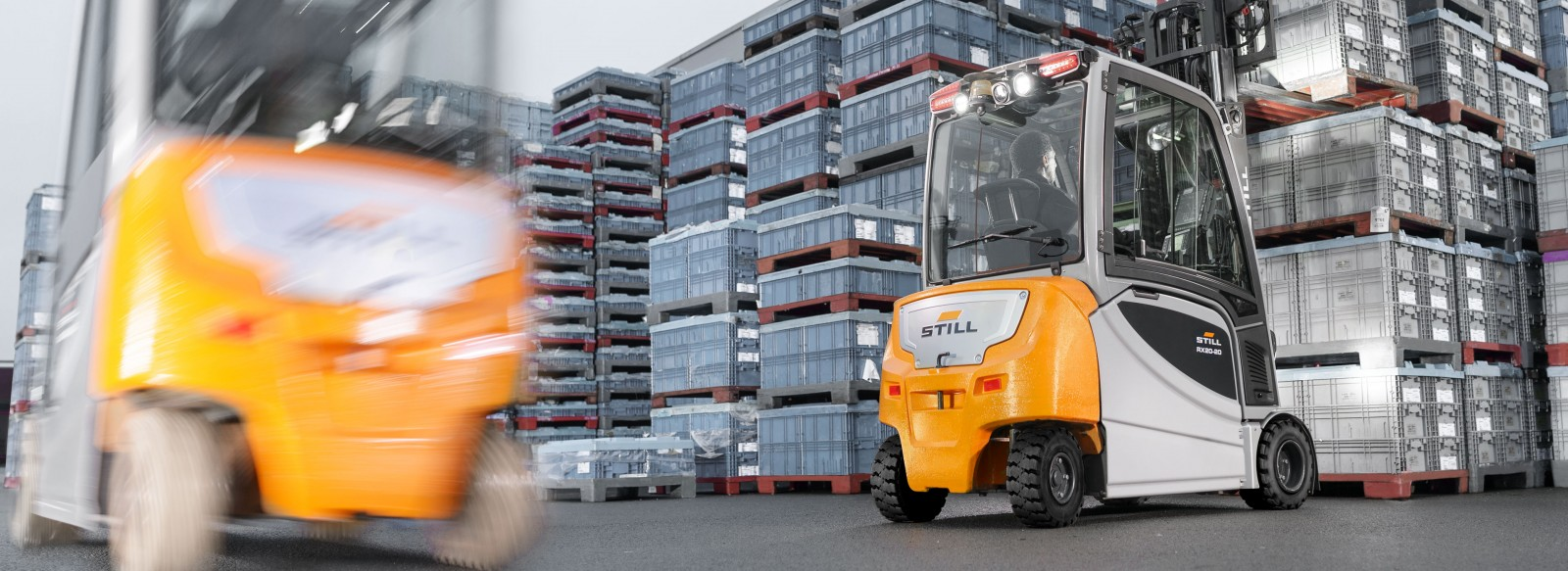 Electric Forklift Trucks - The right solution for any application