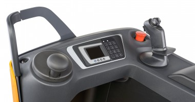 FXV 16 N dämpad förarstol