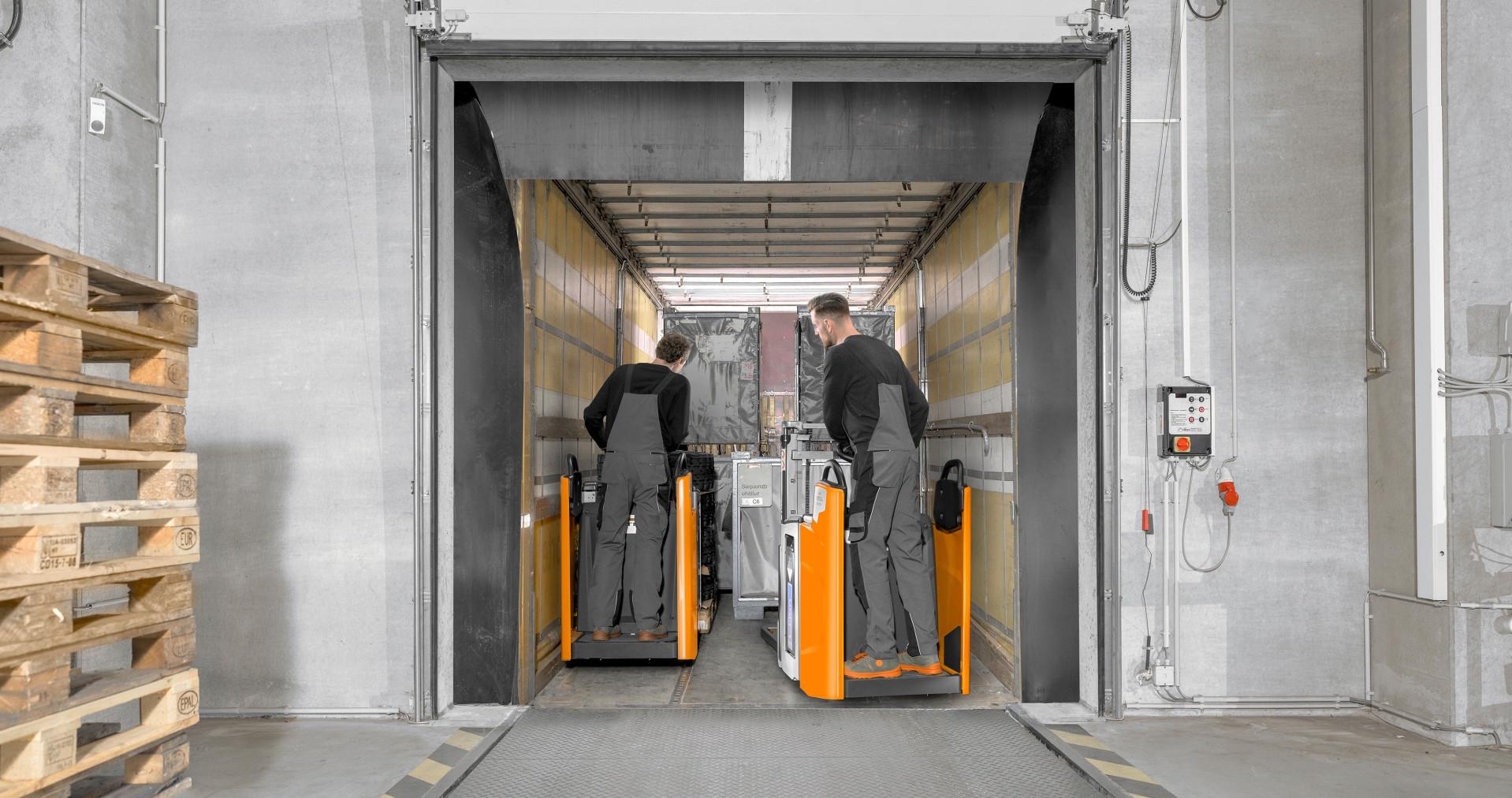 Movimentazione sicura dei carichi in spazi ristretti