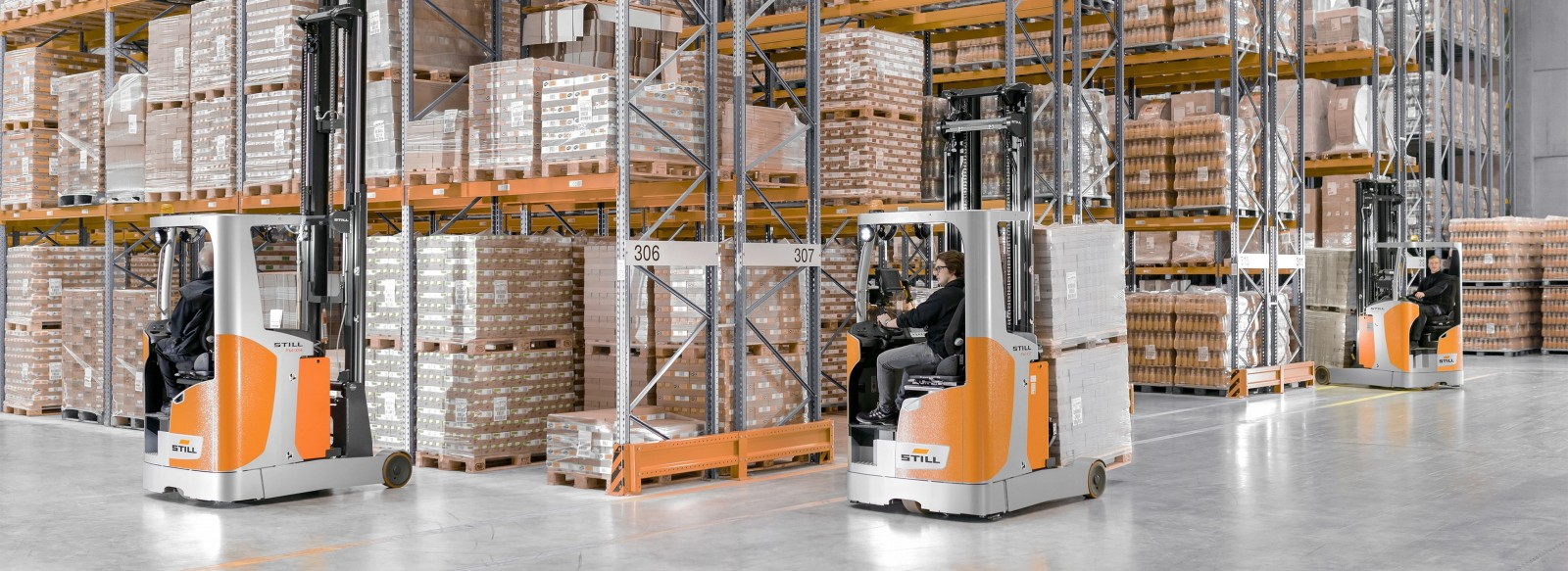 Reach Trucks - Innovation at every level.
