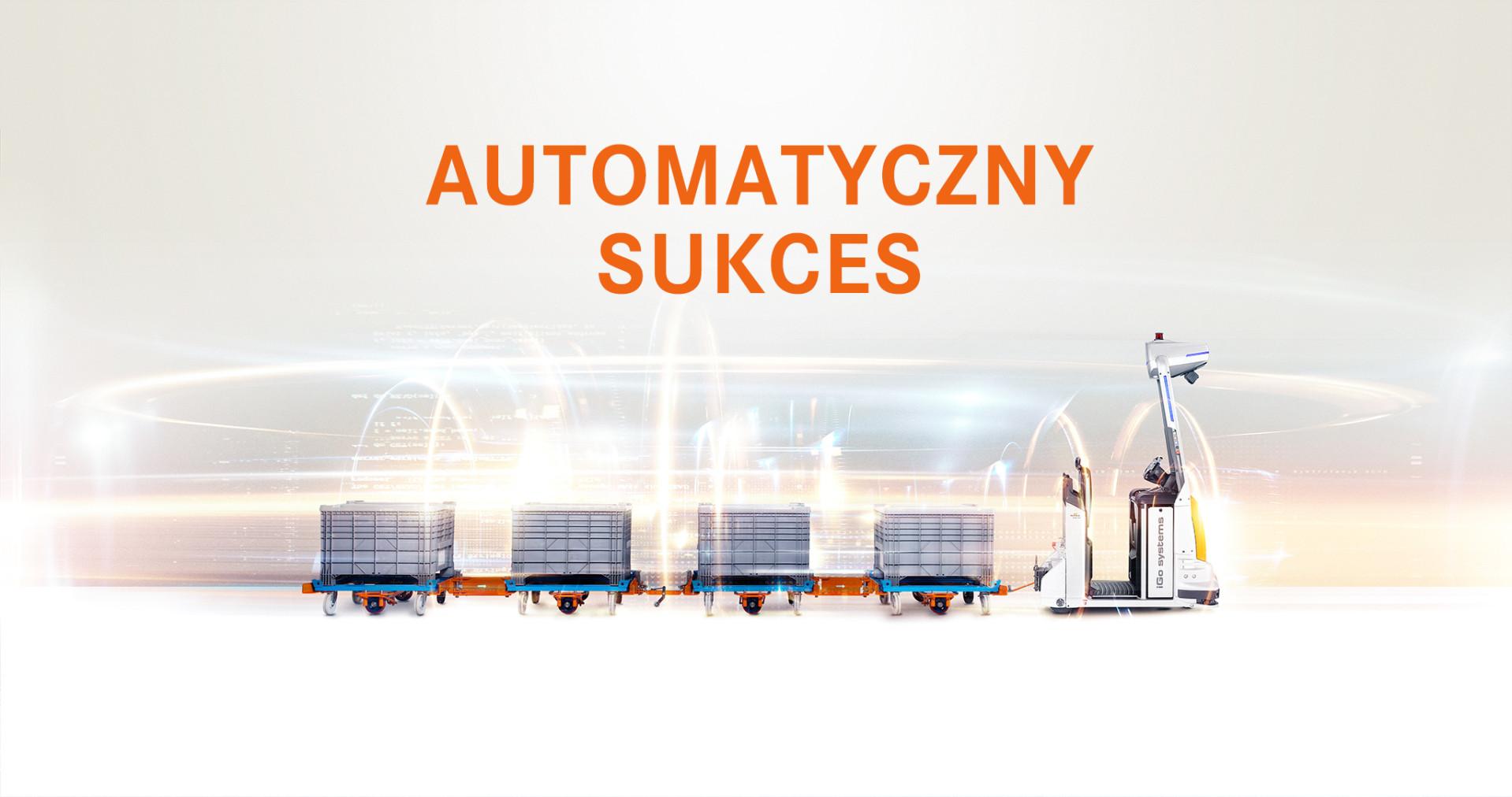 Automatyzacja z zestawami platform transportowych.