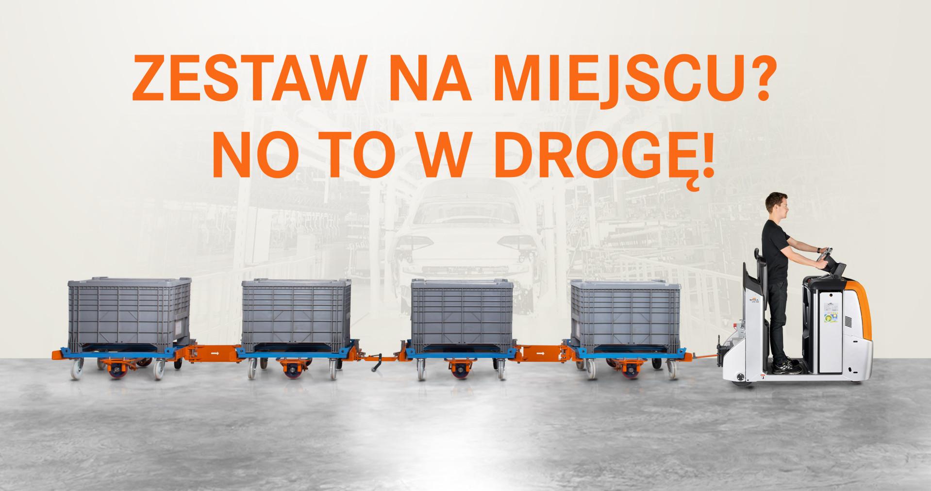 Wdrożenie zestawów platform transportowych.