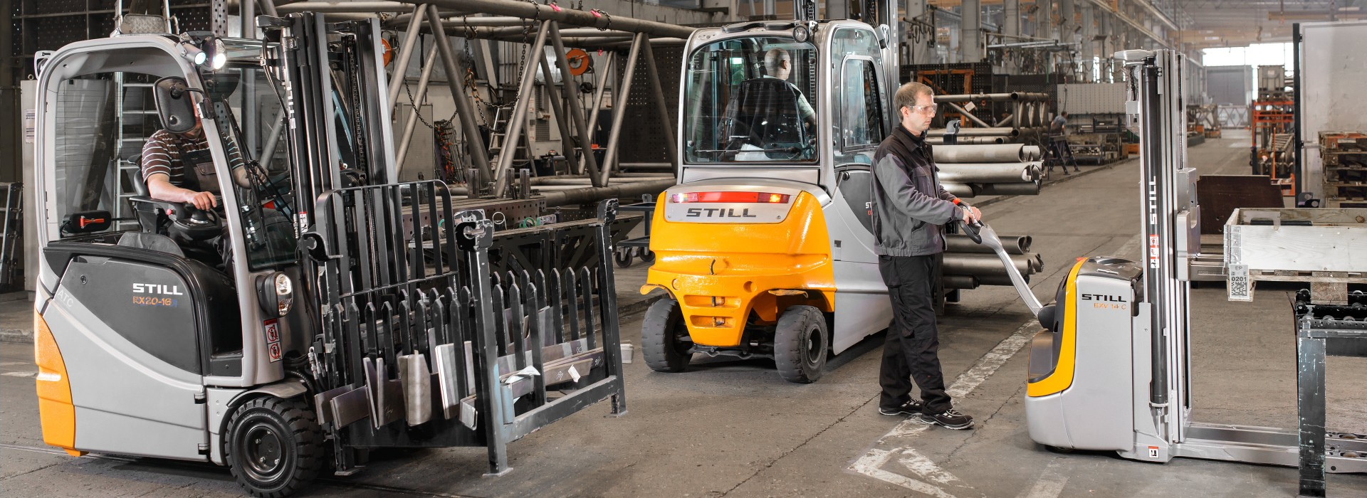 First class products: Forklifts Trucks