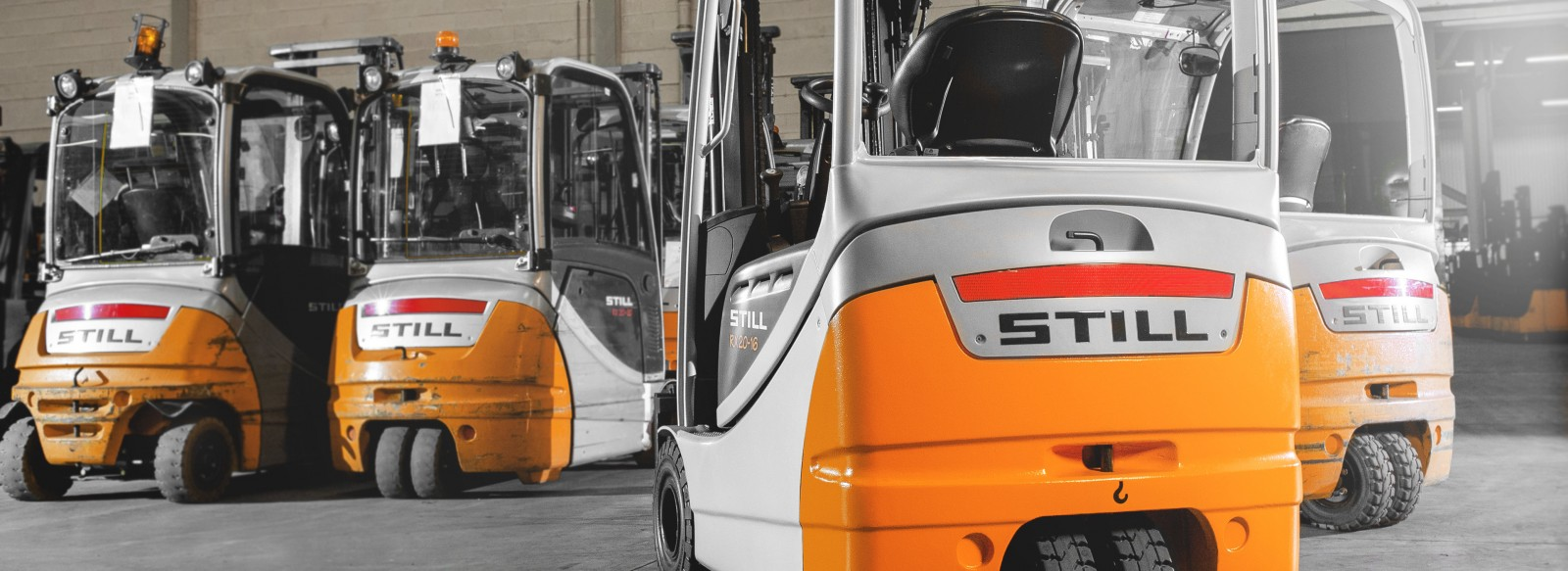 Used forklifts trucks - quality assured